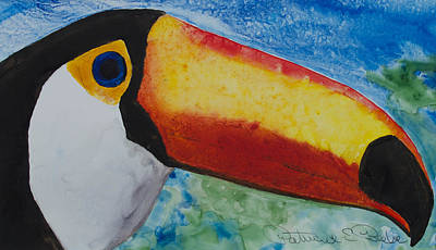 Painting - Toco Tucan by Patricia Beebe