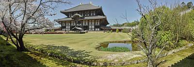 Nara Photograph - Todai-ji Temple, Nara, Nara Prefecture by Panoramic Images