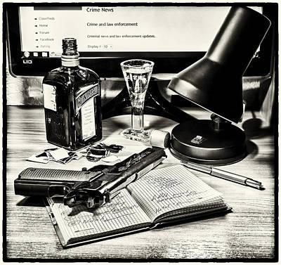 Crime Photograph - Today by Alexander Tumashov