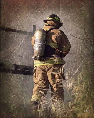 Hero Photograph - Today He Will Fight by Melissa Smith
