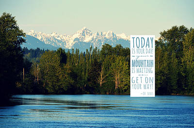 Photograph - Today Is Your Day by Robin Dickinson