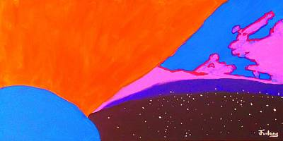 The Universe Painting - Today by Jim  Furlong
