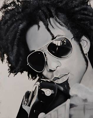 Bassist Painting - Toddiefunk by Brian Broadway