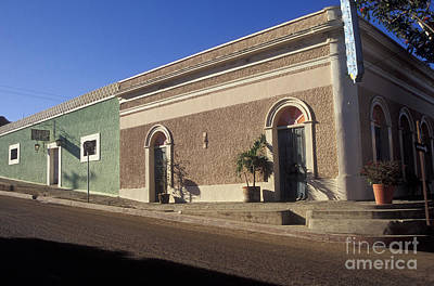 Photograph - Todos Santos Buildings Mexico by John  Mitchell