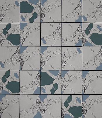 Toes - Five Squared - Almost Art Print by Sandra Gail Teichmann-Hillesheim