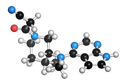 Janus Photograph - Tofacitinib Rheumatoid Arthritis Drug by Molekuul