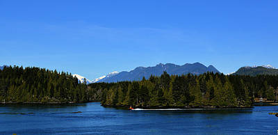 Photograph - Tofino Bc Clayoquot Sound Browning Passage by Lawrence Christopher