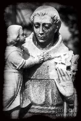 Photograph - Together Again Statue by John Rizzuto