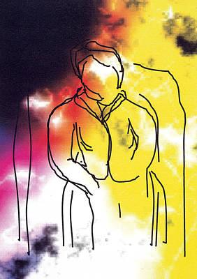 Together Art Print by Bjorn Sjogren