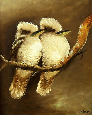 Painting - Together Forever by Glen Johnson