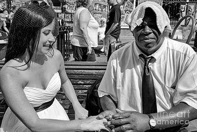 Photograph - Together In Jackson Square by Kathleen K Parker