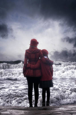 Sisters Photograph - Together We Are Strong by Joana Kruse