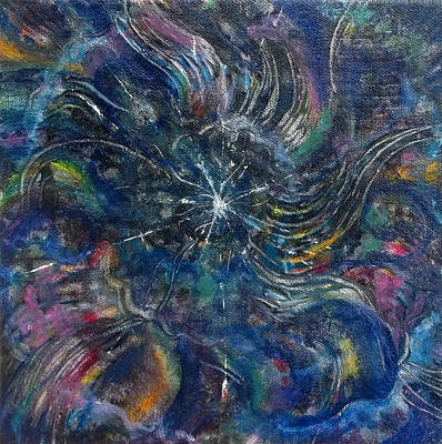 Painting - Tohu Va Vohu by Anne Cameron Cutri