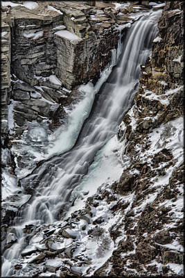 Photograph - Toiga Pass Falls by Erika Fawcett