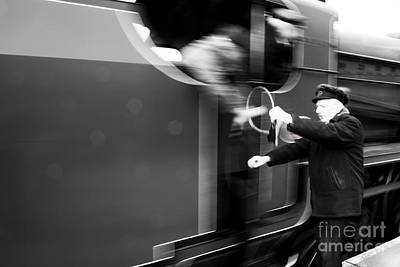 Signalman Photograph - Tokened  by Rob Hawkins