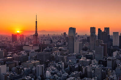 Tokyo 10 Art Print by Tom Uhlenberg