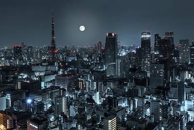 Tokyo 14 Art Print by Tom Uhlenberg