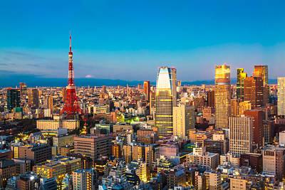 Fuji Mountain Photograph - Tokyo 15  by Tom Uhlenberg