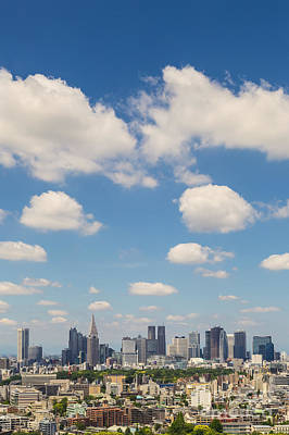 Tokyo Skyline Photograph - Tokyo 31 by Tom Uhlenberg