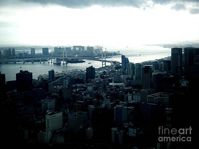 Tokyo Skyline Photograph - Tokyo Bay by Nelly Bacskay