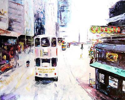 Tokyo Cityscape Original by Brett Gordon