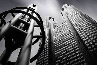 Skyscrapers Wall Art - Photograph - Tokyo Connection Mk.iv by Dr. Akira Takaue