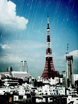 Digital Art - Tokyo Eiffel  by Natalya Karavay