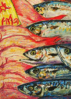 Pastel - Tokyo Fish Market by David Olson