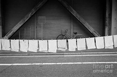 Photograph - Tokyo Laundry Day by Dean Harte