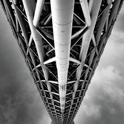 Photograph - Tokyo Sky Tree by Marco Ferrarin