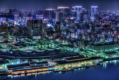 Marina Photograph - Tokyo by Tomoshi Hara