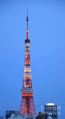 Photograph - Tokyo Tower by Corinne Rhode