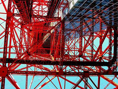 Photograph - Tokyo Tower by Jacqueline M Lewis