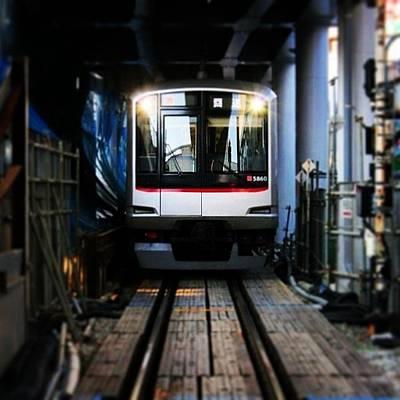 Plus Photograph - #tokyu #toyoko Line - #tokyo #yokohama by Kenichi Iwai