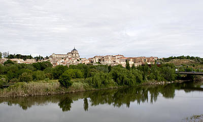 Photograph - Toledo From Across The Bridge by Lorraine Devon Wilke
