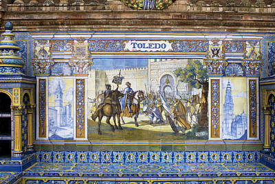 Photograph - Toledo In The Province Alcove Of The Plaza De Espana by Lorraine Devon Wilke