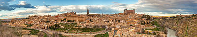 Toledo Panorama Art Print by Jennifer Grover
