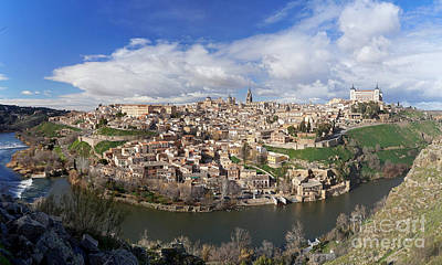 Photograph - Toledo Panorama by Rudi Prott