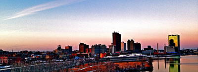 Photograph - Toledo Skyline At Dusk by Joe Minock