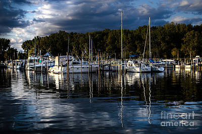 Photograph - Toledo Yacht Club by Michael Arend