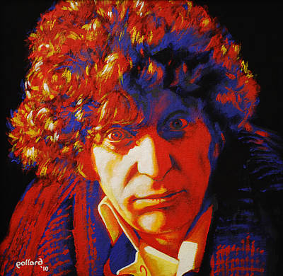 Painting - Tom Baker by Glenn Pollard