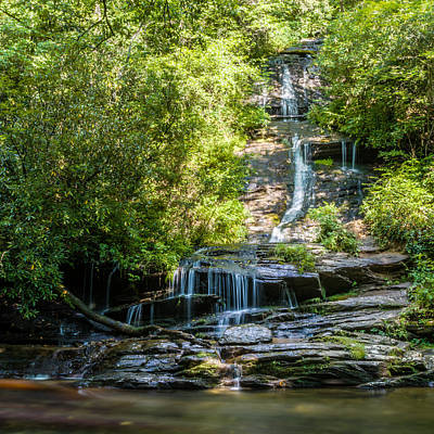 Photograph - Tom Branch Falls 2 by Randy Scherkenbach