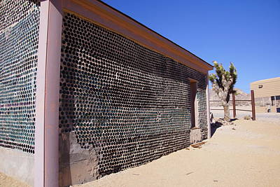 Photograph - Tom Kelly Bottle House by Michael Courtney