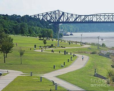 Photograph - Tom Lee Park Memphis Riverfront by Lizi Beard-Ward