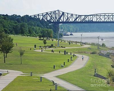 Photograph - Tom Lee Park Memphis Riverfront by Lizi Beard-Ward