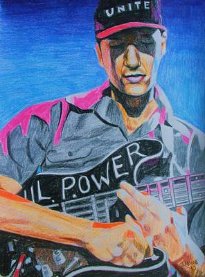 Tom Morello Art Print by Jeremy Moore