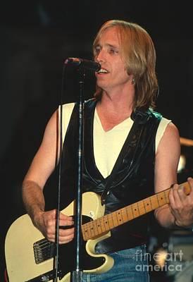 Tom Petty Photograph - Tom Petty by David Plastik