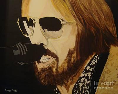 Tom Petty Art Print by Stuart Engel