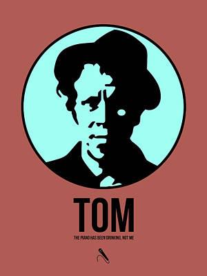 Landmark Digital Art - Tom Poster 2 by Naxart Studio