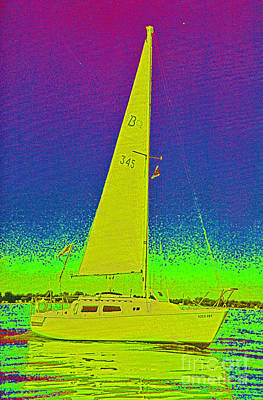Tom Ray's Sailboat Art Print